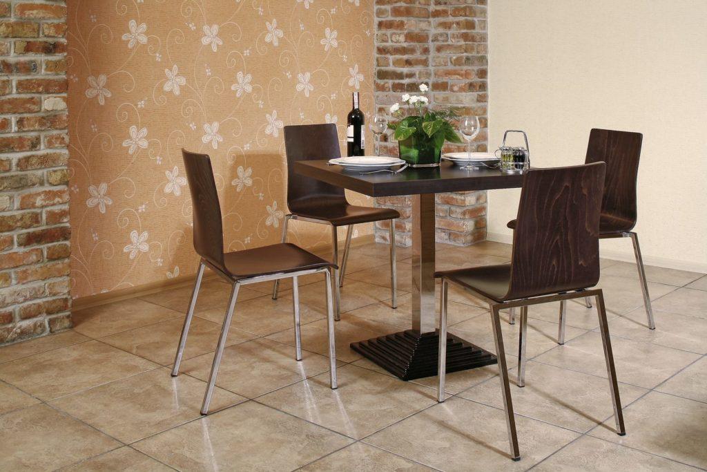 Grafik Kantine und Bistro Stühle