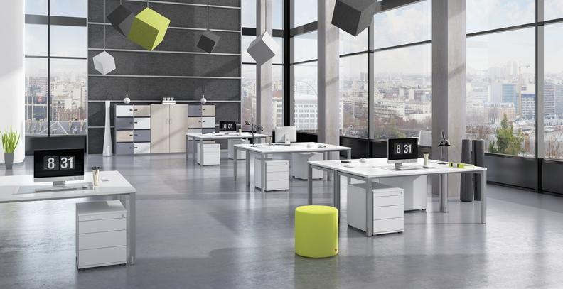 Grafik aus dem Möbelprogramm von M+M Bürosysteme