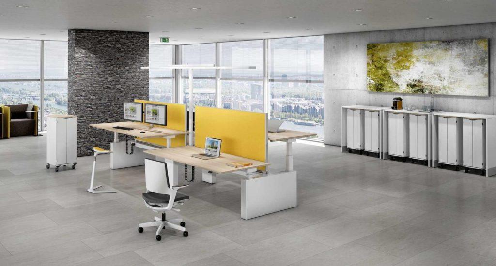 Foto Sitz-Stech-Team-Arbeitsplatz aus dem Hause M+M