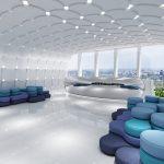 Grafik Akustik und Loung Sitzlandschaft von M+M Bürosysteme