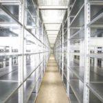 Stahlregal für Lager und Archiv