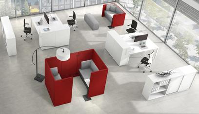 Grafik Möbel von M+M Bürosysteme